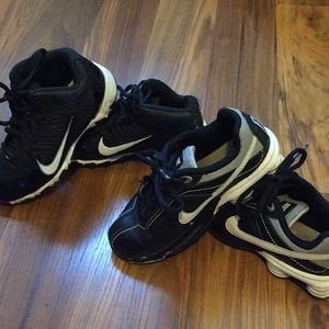 Nike Boys Sneakers size 11C and 12C Two Pairs